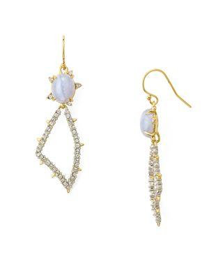 Alexis Bittar Swarovski Crystal-Encrusted Pave Petal Drop Earrings 2508053