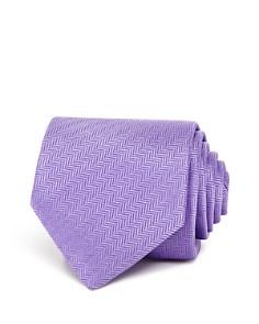 Eton of Sweden Textured Herringbone Classic Tie - Bloomingdale's_0