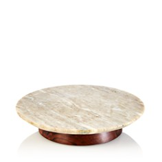 Hudson Park Collection - Marble Lazy Susan - 100% Exclusive