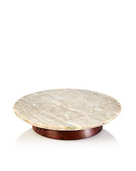 Hudson Park Collection - Marble Lazy Susan - 100% Exclusive