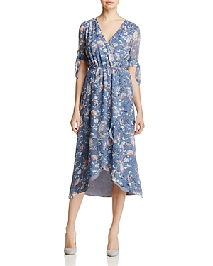 Ella Moss Wildflower Faux-Wrap Dress