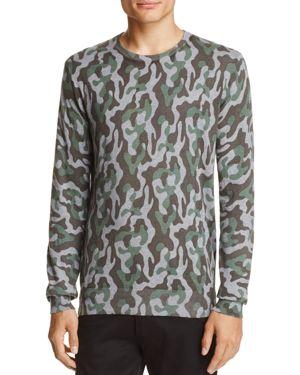 Michael Bastian Camouflage Cotton Sweater