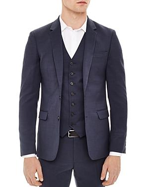 Sandro Notch Birdseye Slim Fit Sport Coat
