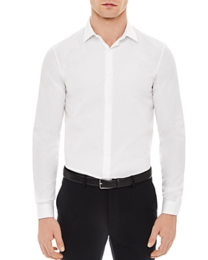 Sandro Seamless Classic Fit Button-Down Shirt