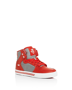 Supra Boys' Vaider High Top Sneakers - Toddler, Little Kid, Big Kid