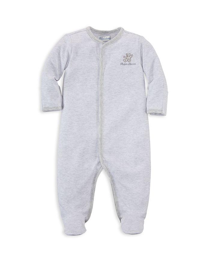 Ralph Lauren - Unisex Bear Striped Footie - Baby