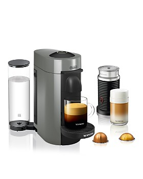 Nespresso - VertuoPlus Coffee & Espresso Maker by De'Longhi with Aeroccino Milk Frother