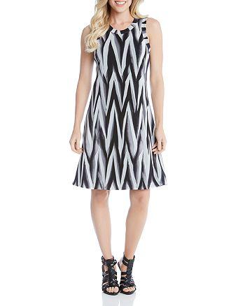 Karen Kane - Abstract Print Dress