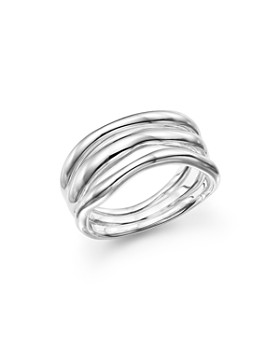 IPPOLITA - Glamazon® Sterling Silver Triple-Band Squiggle Ring
