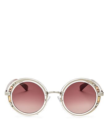 Jimmy Choo - Women's Gem Round Sunglasses, 48mm