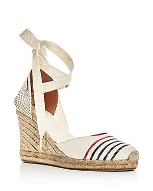 Soludos Women's Ankle Tie Espadrille Wedge Sandals