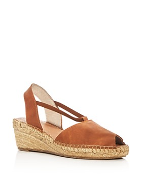 Andre Assous - Women's Dainty Leather Slingback Espadrille Sandals