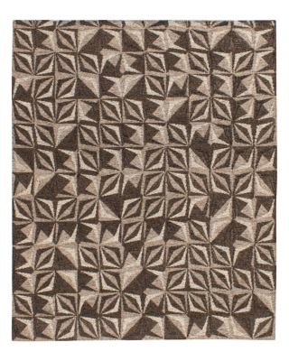 Samoa Collection Area Rug, 5' x 8' - Gray/Silver