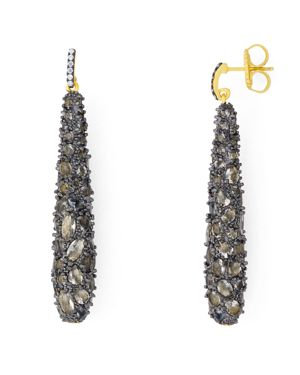 Freida Rothman Textured Drop Earrings