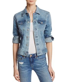 AG - Robyn Denim Jacket in Streamside