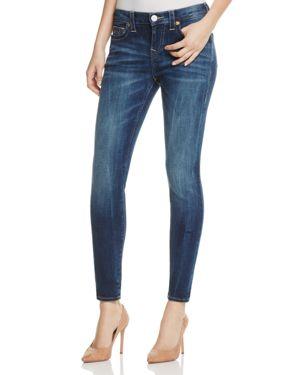 True Religion Halle Super Skinny Jeans in Oceana Blue