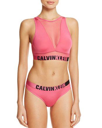 22293cdd1d7 Calvin Klein - ID Bralette   Thong