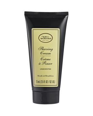 THE ART OF SHAVING Shaving Cream Tube, Unscented, 2.5 Oz.