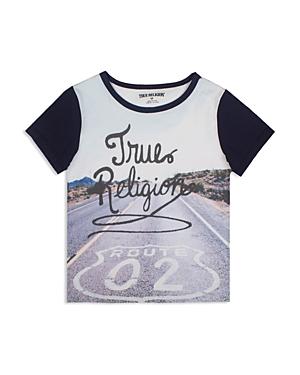 True Religion Boys' Route 02 Tee - Big Kid