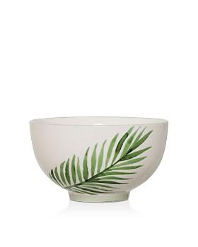 Bloomingville - Ceramic Jade Fern Bowl
