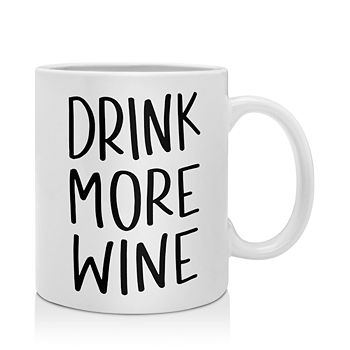 Deny Designs - Chelcey Tate Drink More Wine Mug