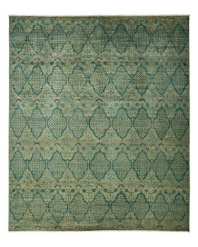"Solo Rugs - Eclectic Area Rug, 9'1"" x 10'9"""