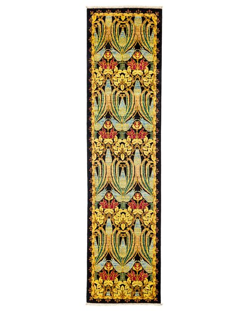"""Solo Rugs - Arts and Crafts Runner Rug, 2'6"""" x 9'8"""""""