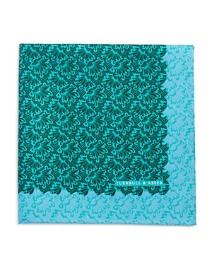 Turnbull & Asser Wave Splash Pocket Square