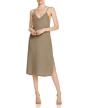 Splendid Crosshatch Slip Dress