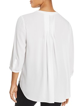 NYDJ Plus - Pintuck-Back Blouse