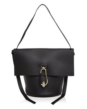 Zac Zac Posen Belay Basic Leather Shoulder Bag