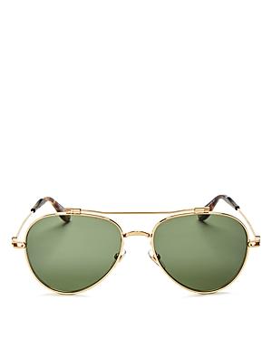 Givenchy Brow Bar Aviator Sunglasses, 59mm