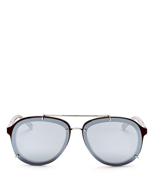 3.1 Phillip Lim - Women's Mirrored Aviator Sunglasses, 61mm