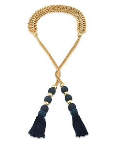 Trina Turk - Tassel Lariat Necklace, 44""
