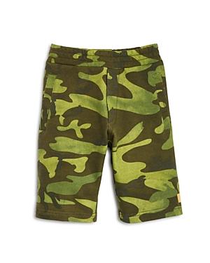 Diesel Boys Pedik Camo Fleece Shorts  Little Kid
