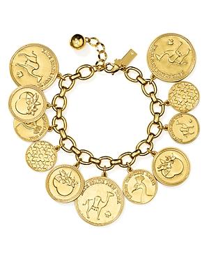 kate spade new york Coin Charm Bracelet
