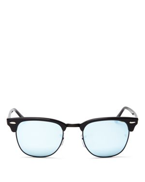 Ray-Ban Mirrored Clubmaster Sunglasses, 49mm - 100% Exclusive