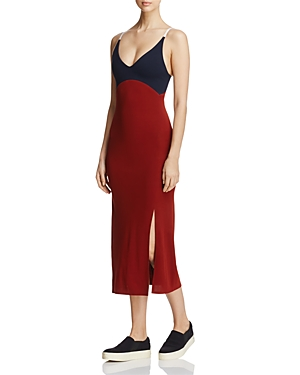 Dkny V-Neck Slip Dress