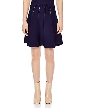 Sandro Leonie Cutwork Skirt