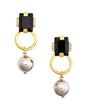 Marni Strass Drop Earrings