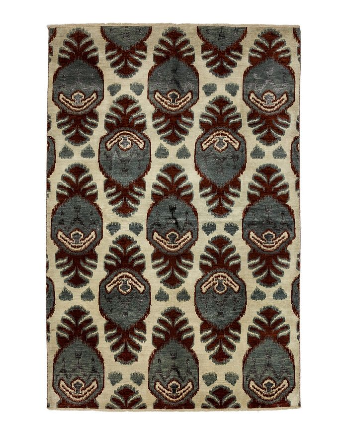 "Bloomingdale's - Ikat Collection Oriental Area Rug, 6'2"" x 9'2"""