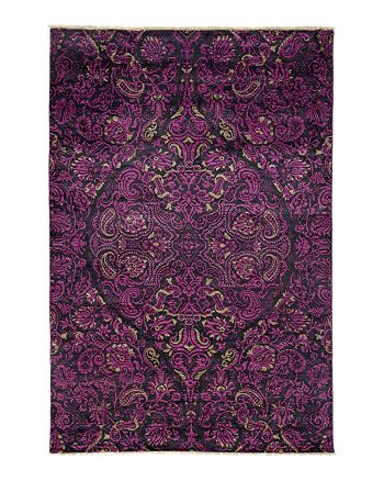 """Solo Rugs - Suzani Collection Oriental Rug, 6' x 8'10"""""""