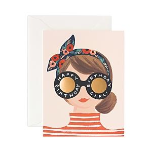 Rifle Paper Birthday Girl Card
