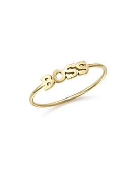 Zoë Chicco - 14K Yellow Gold Boss Ring