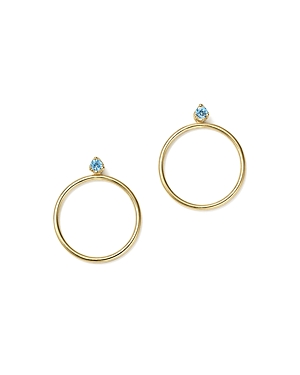 Click here for Zoe Chicco 14K Yellow Gold Hoop Earring Jackets wi... prices