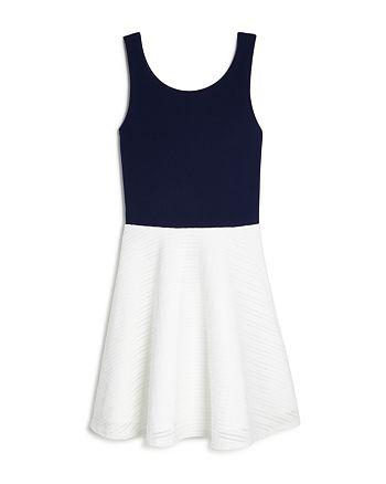 AQUA - Girls' Tank Color Block Dress, Big Kid - 100% Exclusive