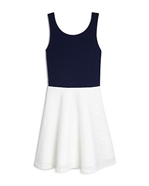 Aqua Girls' Tank Color Block Dress, Big Kid - 100% Exclusive