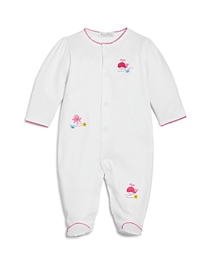 Kissy Kissy Girls' Deep Sea Embroidered Footie - Baby