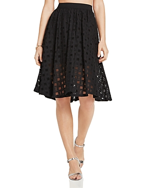 BCBGeneration Grid Lace Skirt