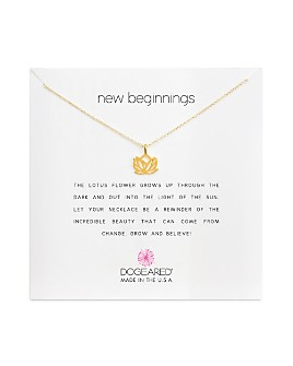 """Dogeared - New Beginnings Necklace, 16"""""""